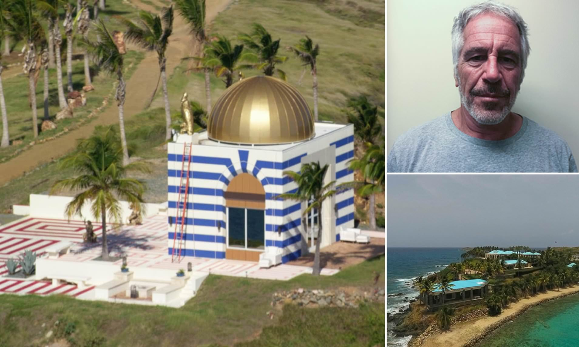 Exclusive Look Inside Epsteins Pedophile Island