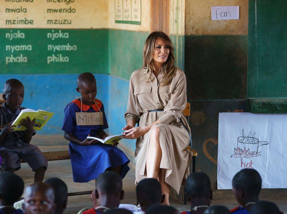 Melania Trump Charity Work