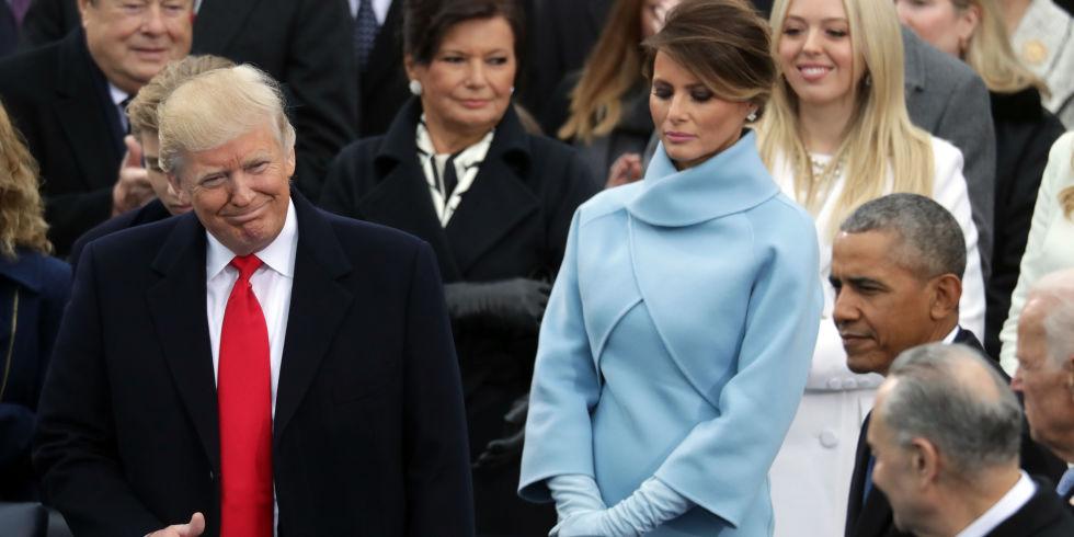 Melania Trump Inauguration Meme