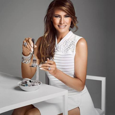 Melania Trump Jewelry Collection