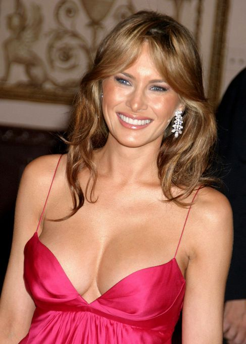 Melania Trump Sexy Photo