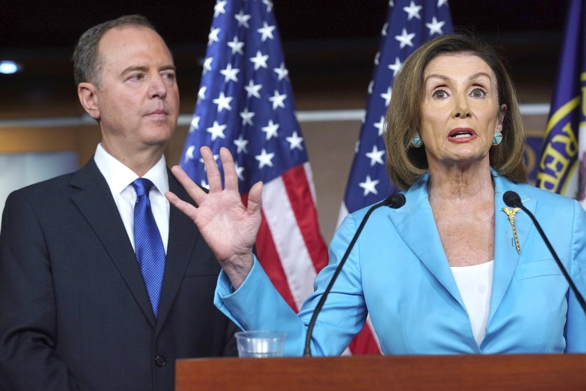 Nancy Pelosi and Adam Schiff Moving Forward with Impeachment