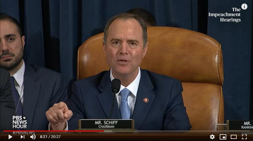 Schiff Erupts during Closing Statement