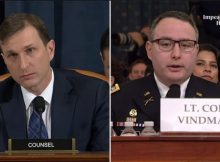 Dem Key Witness Vindman Admits to Parts of Call of President Trump