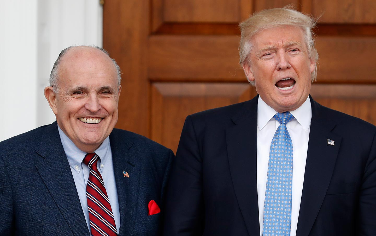 "Ukraine Findings: Rudy Giuliani Returns and Shares ""Hundreds of hours of research"""
