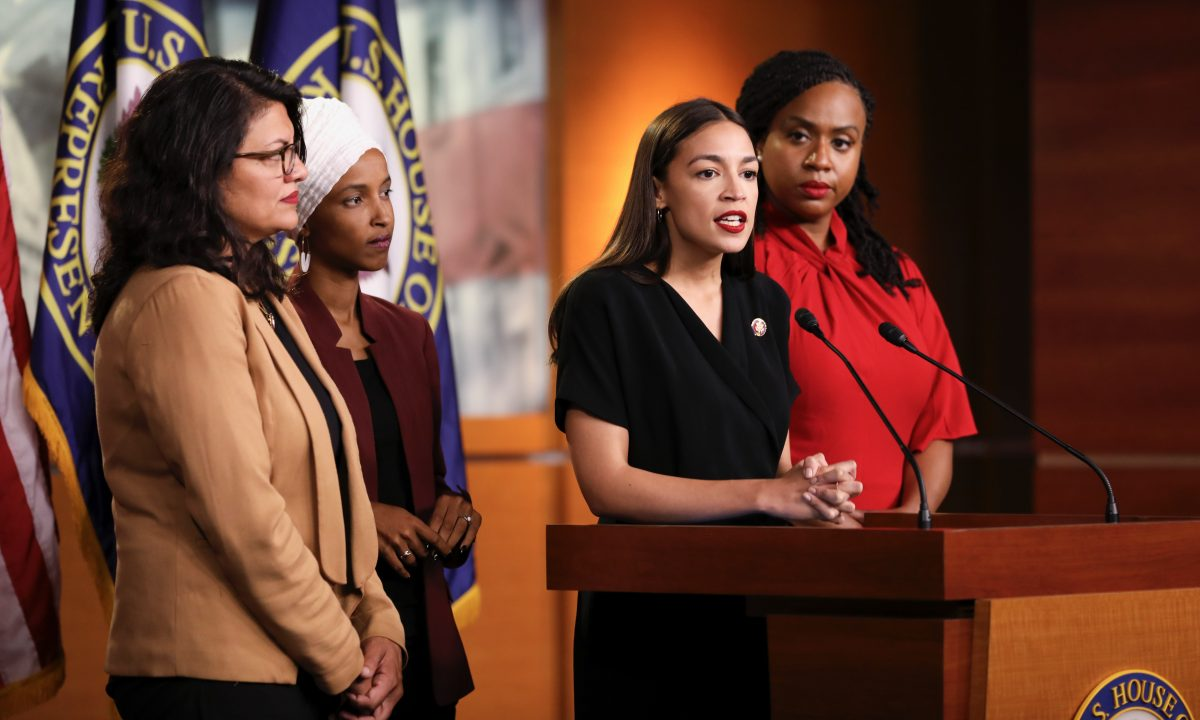 """Pelosi Totally Lost Control of the Democrat Party and """"crazy"""" AOC plus 3 is Running It – Trump"""